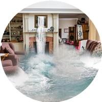 Flood water emergency cleaning Wimbledon